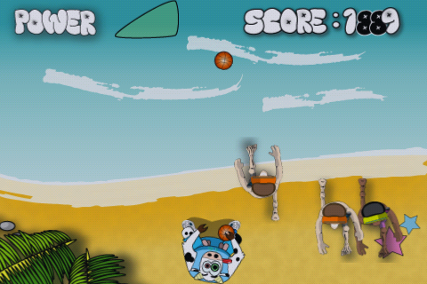 Screenshot Basketball Cow Lite