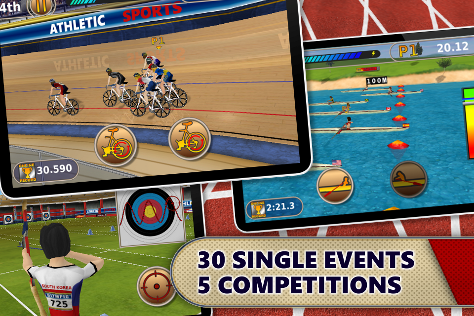 Screenshot Summer Games: Women's Events (Full Version)